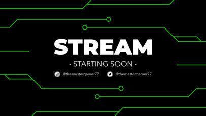 Placeit - Simple Twitch Overlay Maker for a Starting Soon