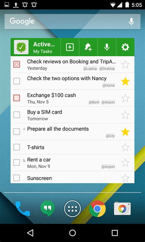 Android To-Do List and Task List App: MyLifeOrganized