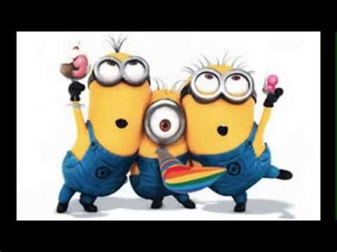 Despicable Me 2 Minions Songs - YMCA ( gru and lucy