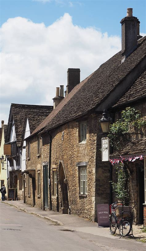 Strolling the Streets of Meryton aka Lacock, Wiltshire