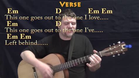 The One I Love (REM) Strum Guitar Cover Lesson with Chords