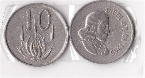 Other Republic of South Africa Coins - 10C COIN 1965 SOUTH
